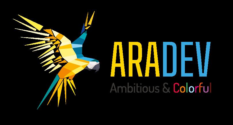 Le logo de Aradev, agence web à Strasbourg et Metz